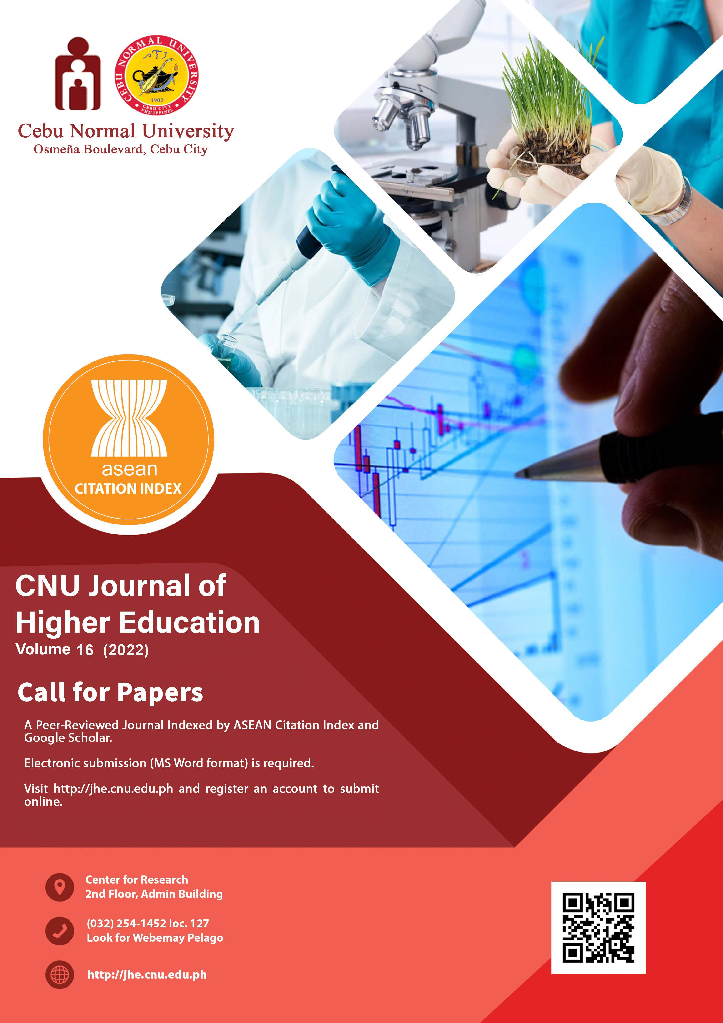 CNU-JHE CALL FOR PAPERS 2022